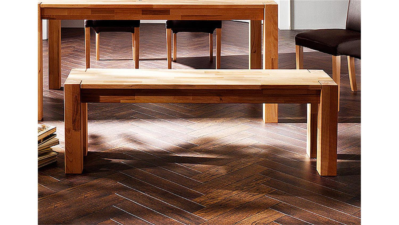 esstisch nesta tisch in kernbuche massiv breite 140 cm. Black Bedroom Furniture Sets. Home Design Ideas