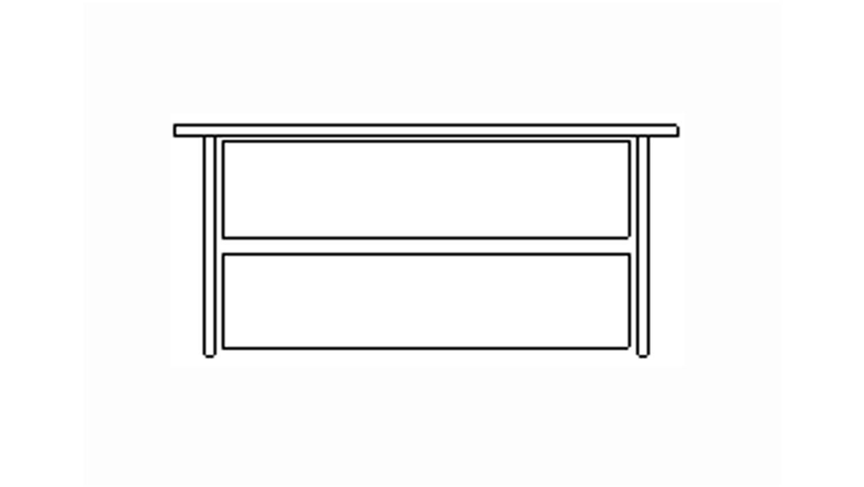 schubkasteneinsatz f r schwebet renschrank breite 280 cm. Black Bedroom Furniture Sets. Home Design Ideas
