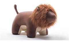 Tierhocker Löwe Hocker Kinderhocker Dekohocker Sitzhocker Lion braun beige