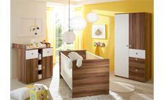 Babyzimmer Wiki 3-teilig in Walnuss und weiß