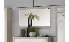 Spiegel Garderobe CREMA Wandspiegel in Sonoma Eiche sägerau 110x70 cm