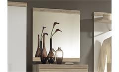 Wandspiegel Imperial 2 Flur Garderobe Spiegel in Eiche Sonoma 85x80 cm