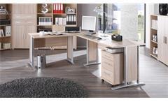 Winkelschreibtisch Office Line Büro Sonoma Eiche