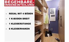 BEGEHBARER ECKSCHRANK CORNER KLEIDERSCHRANK SCHRANK SONOMA EICHE WEIß!