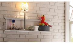 Wandboard Babyzimmer Laura Jugendzimmer Wandregal Kiefer massiv weiß