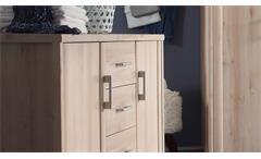 Kommode Classic Schlafzimmer Schrank 2-türig in Buche Dekor