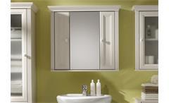 Spiegelschrank bad landhaus  Spiegelschrank JASMIN Badezimmer Schrank Spiegel Lärche weiß