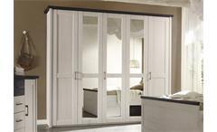 kommode luca sideboard in pinie wei und tr ffel. Black Bedroom Furniture Sets. Home Design Ideas