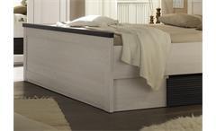 Schlafzimmer Set Luca Bett Kleiderschrank Nako in Pinie weiß Touchwood 4 teilig