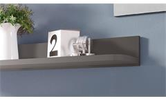 Wandboard Desk Wandregal Wandpaneel Paneel Regal in lava mit 1 Ablage 95 cm