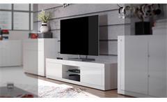 TV-Board Paint Lowboard Fernsehschrank weiß Hochglanz Lack