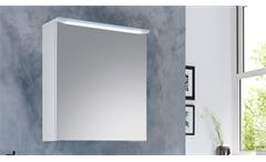 Spiegelschrank Splashi Bad Wandschrank weiß inkl. LED