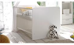 Babyzimmer 2 Bibo Kinderzimmer Komplett Set Schrank Bett Kommode weiß 3-teilig