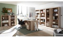 Büroschrank Fact Aktenschrank Schrank Home-Office Büromöbel Sonoma Eiche 80x117