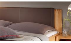 Bettanlage Schlafzimmer Colorado Doppelbett Nachtkommoden Kernbuche teilmassiv