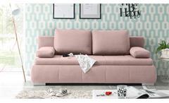 Schlafsofa NORMAN Bettsofa Polstermöbel Flamingo 105x208