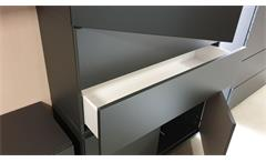 Highboard Bright Mehrzweck Kommoden graphit Schubkästen Türen push-to-open
