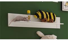 Wandboard Paula Wandregal Regal Hängeboard Hängeregal Babyzimmer in weiß 95 cm