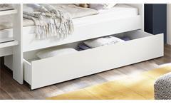 Bettkasten GAIUS weiß für Kinderbett Hochbett