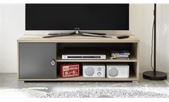 Lowboard 120 Merlin Old Style anthrazit TV-Board Schrank Unterschrank Rack
