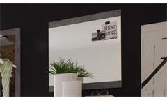Wandspiegel Spiegel Garderobenspiegel Flurspiegel Indiana in Beton grau vintage