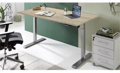 Schreibtisch Bürotisch Stehtisch Sonoma Eiche elektisch höhenverstellbar Pronto