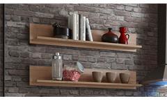 Wandboard Sonoma Eiche Regal Küche Wandregal Wohnzimmer Wow