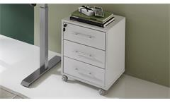 Rollcontainer PRONTO lichtgrau Büroschrank abschließbar