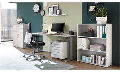 Büro-Set PRONTO lichtgrau Home Office Büromöbel 4-teilig
