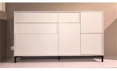 Sideboard 4 Anrichte Kommode Wohnzimmer Schrank Freedom in weiß matt
