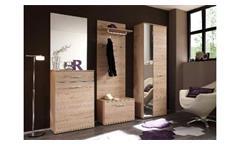 Spiegel Wandspiegel Garderobenspiegel Flurspiegel Linus Eiche San Remo hell