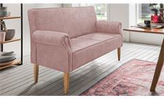 Küchensofa Antoni 3-Sitzer Sofa Speisesofa in flamingo rosa mit Federkern 174 cm
