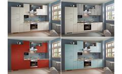 Brigitte Küche Einbauküche Küchenzeile inklusive E-Geräte mit vielen Farben 812