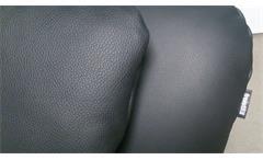 Longchair Freistil 163 ROLF BENZ Relaxliege Polsterliege in Leder schwarz