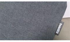 Longchair Freistil 163 ROLF BENZ Relaxliege Polsterliege in Stoff grau