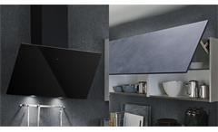 Küche Einbauküche Küchenzeile Celine Küchenblock in beton hell stahl mit Geräten