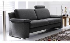 Sofa CHOICE 2-Sitzer Stoff dunkelgrau inkl. Nosagfederung