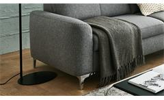 Garnitur 3 2 Sofagarnitur Couchgarnitur Sitzmöbel Memphis Basic Stoff grau TTFK