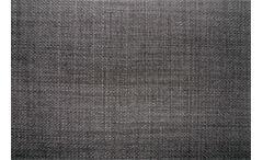 Ecksofa Amalfi Eckgarnitur in Webstoff graphit inkl. Kopfteilverstellung 290x205