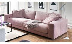 Big Sofa HIGH LOFT Megasofa Loungesofa in Stoff rosa 290
