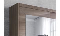 Schwebetürenschrank Alfa Kleiderschrank Schrank Sonoma Eiche hell 180 cm