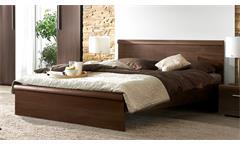Futonbett MESTRE Bett in Eiche Sonoma dunkel 160x200 cm