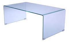 Couchtisch Cecile Tisch Wohnzimmertisch Glastisch Beistelltisch Klarglas