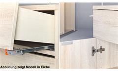 Sideboard Compleo weiß Mehrzweckschrank 4-türig von CS Schmal