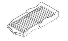 Autobett Rocket Kinderbett Rennwagen Design Spielbett mit Rollrost