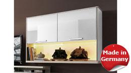 Hängeschrank Wandschrank Hängeregal Light Line 4 in weiß Hochglanz lackiert