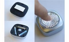LED Leuchte TOUCH LITE silber mobile Kleinleuchte universal