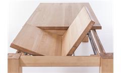 Esstisch 6751 Tisch Esszimmertisch Kernbuche massiv geölt ausziehbar 160-235