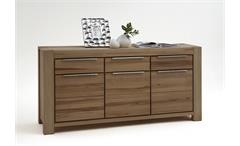 Sideboard NENA Kommode in Wildeiche massiv geölt 175x86x45