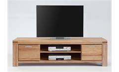 TV-Kommode 4 Kira TV-Board Lowboard Unterschrank in Kernbuche massiv geölt